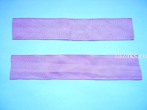 как сделать резинки бантики