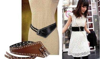 черный пояс для белого платья