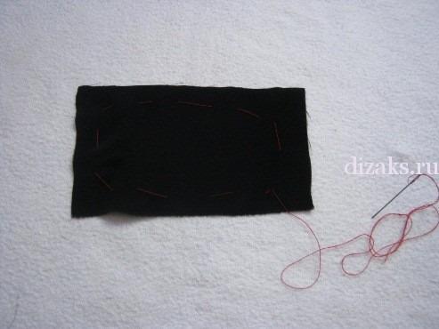как сделать бусы из ткани
