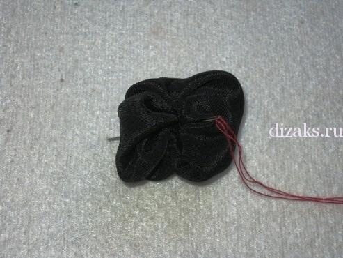 как сделать простые бусы из ткани
