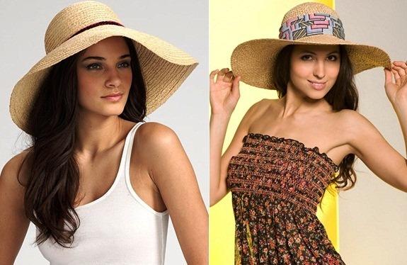 соломенные шляпки модно