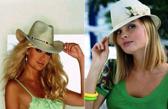 модные соломенные шляпки