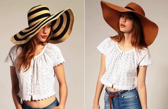соломенные шляпки модные
