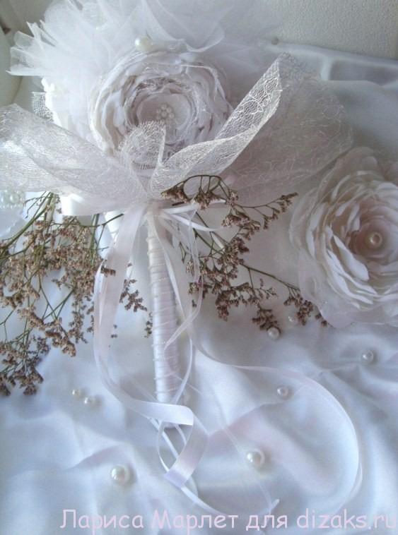 букет для невесты своими руками