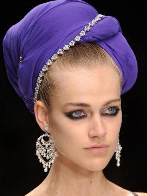 платок на голову тюрбан