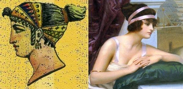 украшения для волос древние