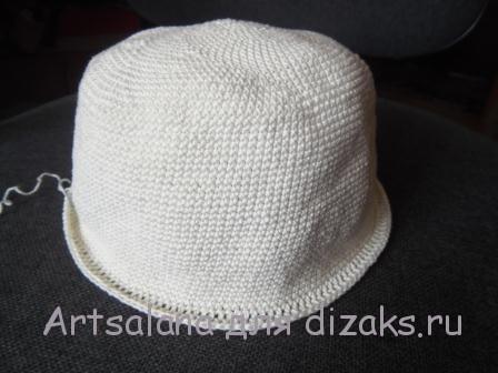 как связать шляпу крючком