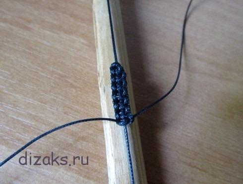 плетение шамбала