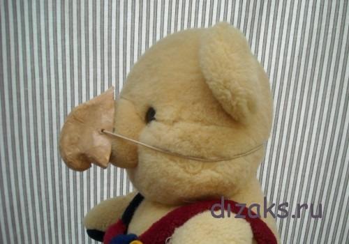 нос из папье-маше для бабы яги своими руками