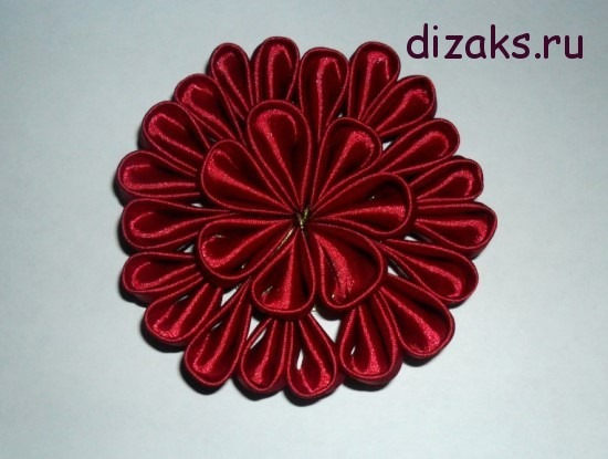 цветок канзаши7