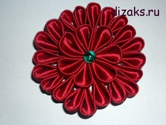 цветок канзаши9