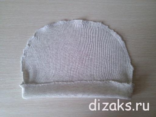 детская шапка из трикотажа своими руками