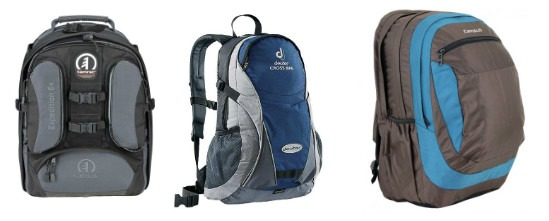виды рюкзаков