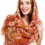 Миниатюра к статье Летние модные платки 2014