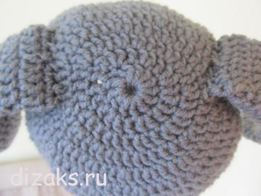 шапка для новорожденного крючком