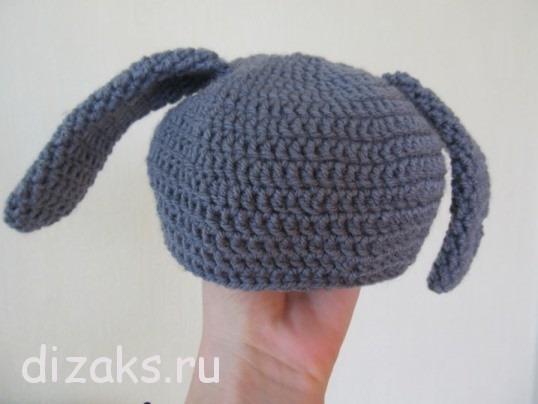 шапка для новорожденного