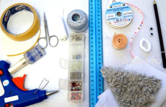 материалы для резинки овечка своими руками