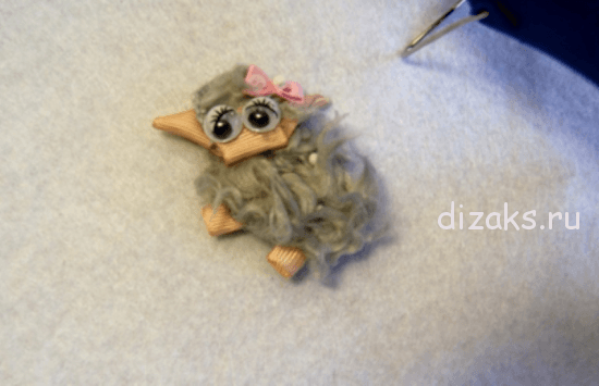 овечка из меха