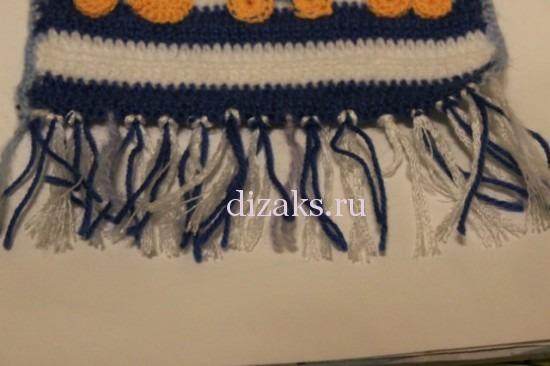бахрома на шарф