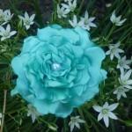Миниатюра к статье Цветок из атласной ткани своими руками