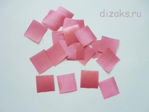 нарезать квадраты из ленты