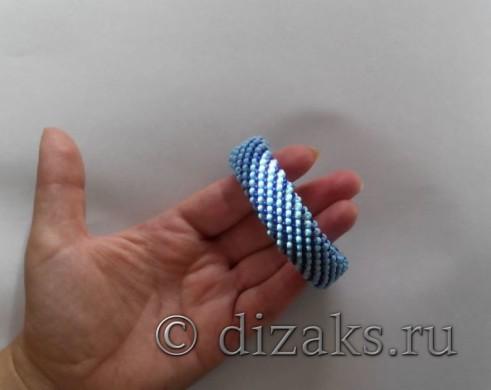 браслет из бисера крючком