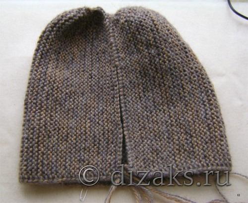 две половинки шапки бини