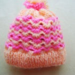 шапка тунисским узор