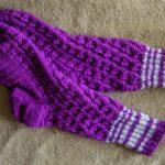 Миниатюра к статье Женские ажурные носки спицами с узором