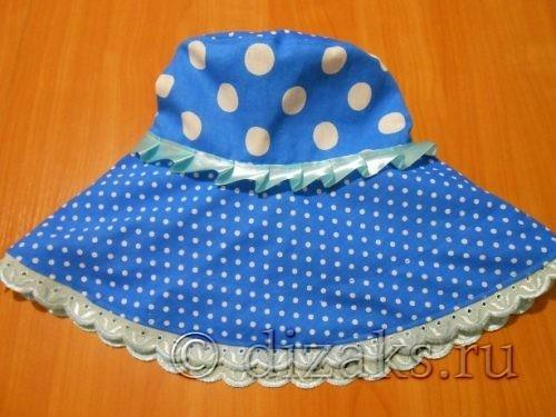 сшить женскую летнюю шляпу