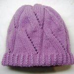 Миниатюра к статье Двойная шапка спицами для женщин своими руками