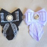 Миниатюра к статье Школьный галстук канзаши из репсовых лент