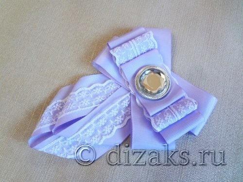 красивый галстук канзаши