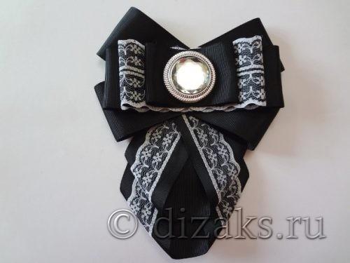 школьный галстук канзаши