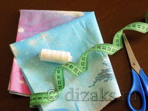 материалы для шитья косынки
