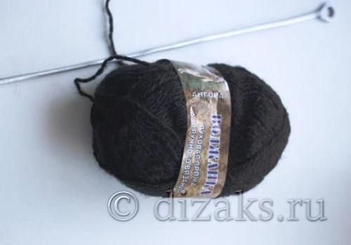 Материалы для создания шарфа-хомута с объемными косами