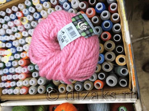 нитки для вязания женской шапки