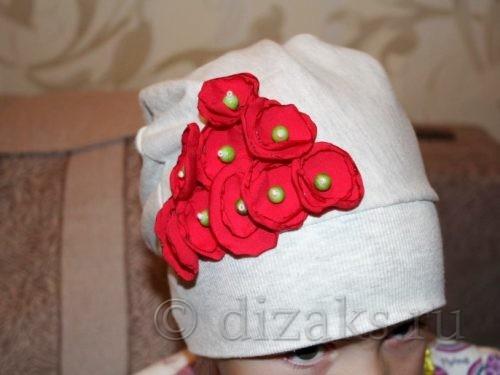 шапка из капюшона