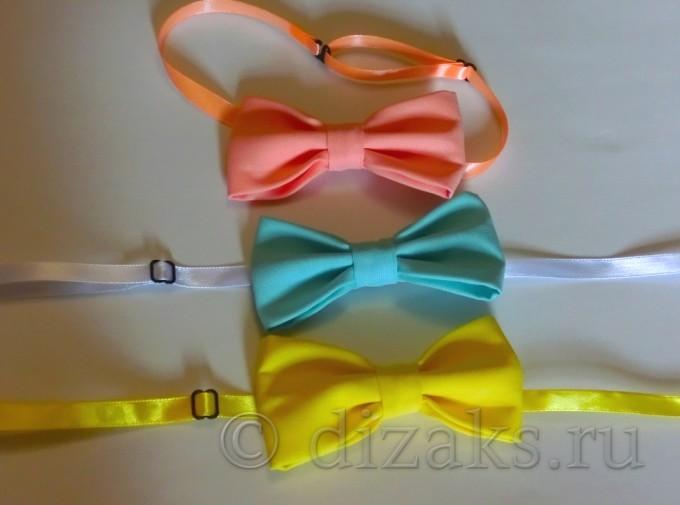 как сшить галстук-бабочку из ткани своими руками