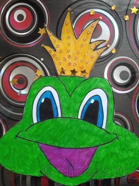 маска Царевны Лягушки своими руками