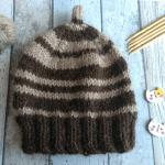 Миниатюра к статье Детская шапочка спицами для новорожденных, мастер-класс