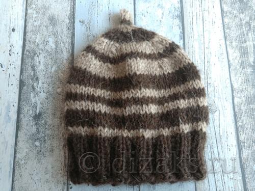 как связать детскую шапочку спицами для новорожденных