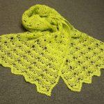 Миниатюра к статье Вяжем ажурный шарф крючком: схема и описание
