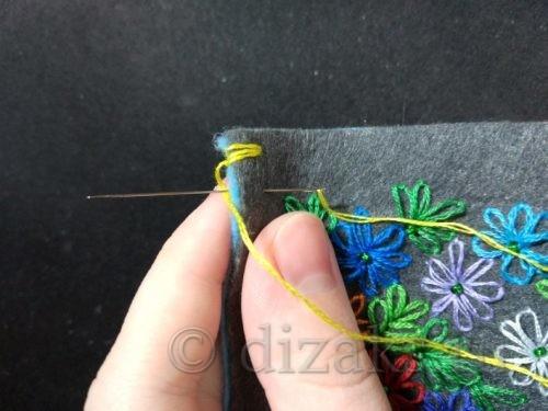 сшивание деталей клатча