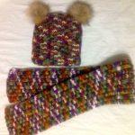 Миниатюра к статье Самый простой способ связать спицами детскую шапочку и шарф