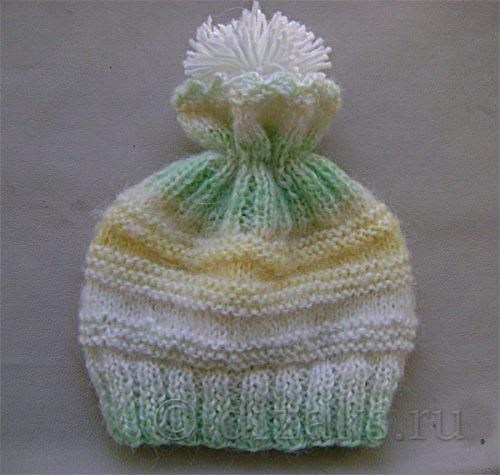 шапка с отверстием для хвоста