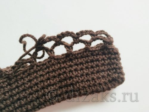 схема вязания авоськи