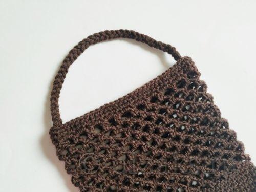 сумка-авоська крючком