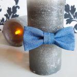 Галстук-бабочка на резинке: как сшить без швейной машинки