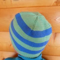 шапочка без швов круговыми спицами